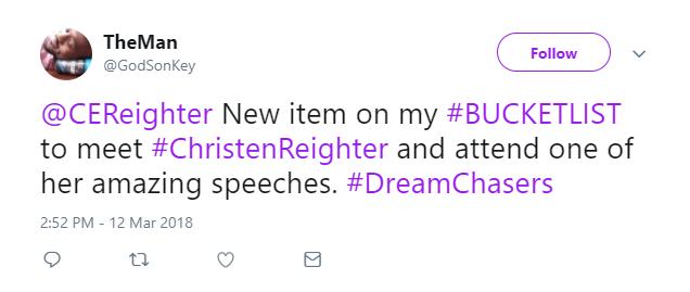 twitter bucketlist
